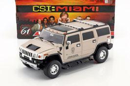 "Hummer H2 2003-2010 ""CSI Miami"" beige met."