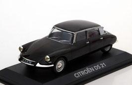 Citroën DS21 Berline 1966-1967 schwarz