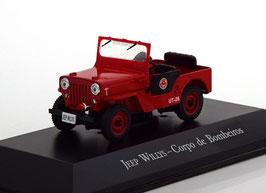 Jeep Willys Corpo de Bombeiros 1969 rot