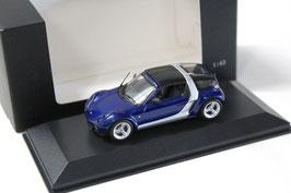 Smart Roadster Coupé 2003-2005 dunkelblau / silber
