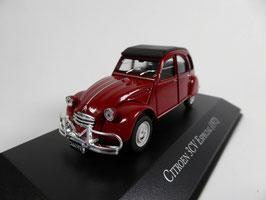 Citroën 3CV Especial 1969-1979 rot / schwarz Argentinia