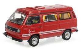VW T3b Camper Westfalia Joker 1985-1992 dunkelrot / weiss