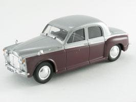 Rover P4 90 1949-1964 silber / dunkelrot
