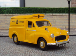 Morris Minor Van AA Patrol Road Service Yellow