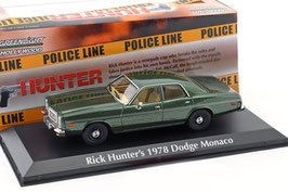 "Dodge Monaco IV 1977-1978 dunkelgrün met. ""TV-Serie Hunter 1984-1991"""