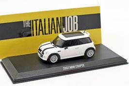 "Mini Cooper S 2004-2008 ""Film The Italian Job 2003"" weiss / schwarz"