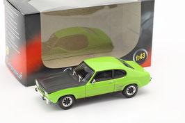 Ford Capri MK I 1968-1973 grün / matt- schwarz