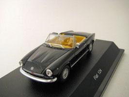 Fiat 124 Spider MK I 1966-1972 schwarz