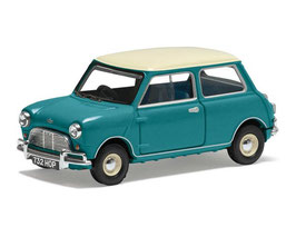 Austin Mini Cooper S MK I 1964-1967 blau / weiss