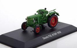 Deutz F2L 612/6 Traktor 156 dunkelgrün / rot
