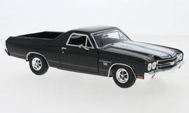Chevrolet El Camino SS 396 1970 schwarz / weiss