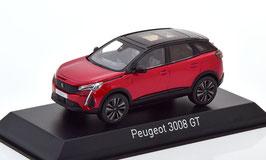 Peugeot 3008 II GT Black Pack Phase II dunkelrot met. / schwarz