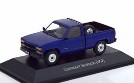 Chevrolet Silverado Pick Up 1997 dunkelblau / schwarz