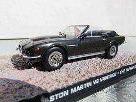 Aston Martin V8 Volante 1978-1989 dunkelgrau met. James Bond Edition 007