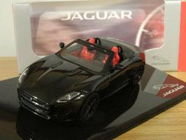 Jaguar F-Type S V8 Roadster 2012-2014 schwarz / Interieur rot