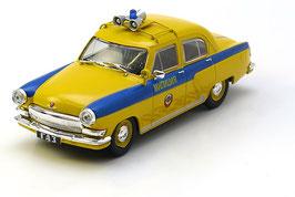 GAZ M-21P Wolga 1956-1968 Police gelb / blau