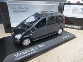 Mercedes-Benz Vaneo W414 2001-2005 Carbonschwarz met.
