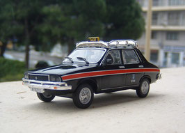 Renault 12 TL Phase II 1975-1980 TAXI Madrid schwarz / rot