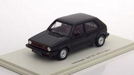 VW Golf I GTI Phase II 1978-1980 4-Türer schwarz