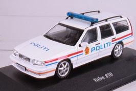 "Volvo 850 Kombi Phase I 1993-1996 ""Politi Norwegen weiss / rot / blau"