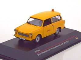 """Trabant P601 Universal """"Follow Me-DHL HUB Leipzig 2001"""" gelb / rot"""