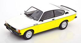 Opel Kadett C Coupé GT/E Phase II 1977-1979 gelb / weiss / schwarz