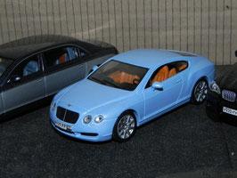 Bentley Continental GT Phase I 2003-2007 hellblau met.