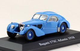 Bugatti 57 SC Atlantic 1937-1938 blau