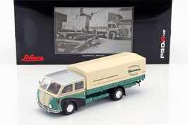 """Saurer 3C-H LKW 1951 """"Bachmann Kölliken"""" grün / creme / schwarz"""