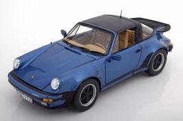 Porsche 911 Turbo Targa 3.3 1987 dunkel blau met.