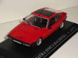 Matra Simca Bargheera S Phase II 1977-1980 bordeaux met.