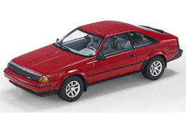 Toyota Celica III GTS Liftback 1984 rot / schwarz