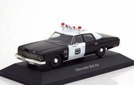 Chevrolet Bel Air V Sedan 1971-1975 Police USA schwarz / weiss