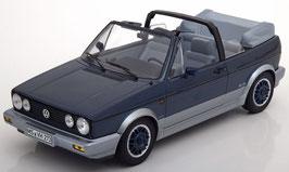 VW Golf I Cabriolet Bel Air 1992 dunkel blau met. / silber met.