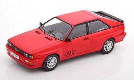 Audi Quattro Phase I 1980-1982 rot / schwarz