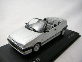 Renault 19 Cabriolet Phase II 1992-1997 silber met.