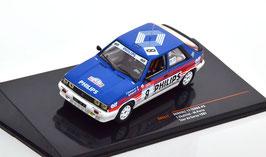 Renault 11 Turbo #8 Philips Rallye WM Tour de Corse 1987 F. Chatriot / M Perin