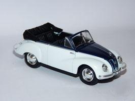 IFA F9 Cabriolet 1950-1956 weiss/schwarz