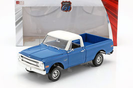 Chevrolet C-10 Pick Up 1970 blau / weiss