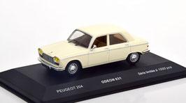 Peugeot 204 Berline 1965-1976 creme