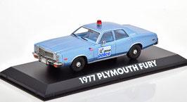 """Plymouth Fury 1975-1978 """"Detroit Police Film Beverly Hills Cop 1984 hellblau met."""