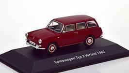 VW Typ 3 Variant Phase I 1961-1969 dunkelrot