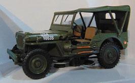 Jeep Willys U.S. Army 1943-1945 mattoliv