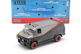 "GMC Vandura Van 1983 ""TV-Serie The A-Team 1983-1987 schwarz / grau / rot"