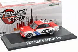 Datsun BRE 510 #46 1971 weiss / rot / blau