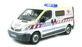 "Vauxhall Vivaro A Van 2001-2014 ""Police Hampshire GB"" RHD weiss / rot / blau"
