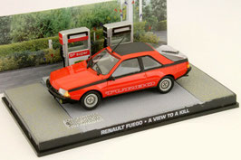 "Renault Fuego Turbo 1983-1986 rot / schwarz ""James Bond Edition 007 A view to a kill 1985"