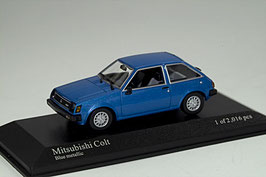 Mitsubishi Colt A150 1978-1984 3-Türer blau met.