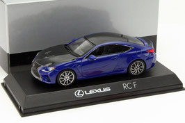 Lexus RC F seit 2014 blau met. / schwarz