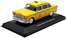 "Checker New York TAXI 1977 gelb TV-Serie ""Friends Phoebe Buffay"""